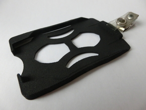 Card holder in Black Strong & Flexible