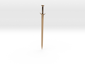 Sword in Polished Brass