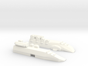 Small Destroyer in White Strong & Flexible Polished