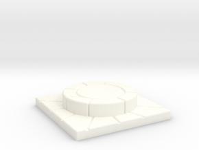 SOL Altar in White Processed Versatile Plastic