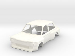 Imp Super Saloon 1:32 in White Processed Versatile Plastic