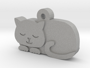 Cat Charm in Aluminum