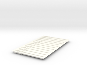 PillBoxe1 Bubble Tent R2B D Fixed in White Processed Versatile Plastic