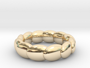 Ring Of Twelve, UK Size N (US Size 6 ¾) in 14K Yellow Gold