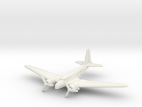 Douglas UC-67 (In Flight) 6mm 1/285 in White Natural Versatile Plastic