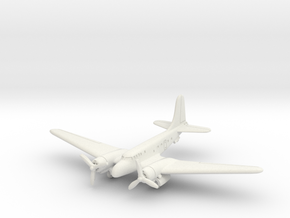 Douglas UC-67 (with landing gear) 6mm 1/285 in White Natural Versatile Plastic