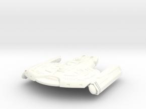 "Saber Class Refit B 1.7"" in White Processed Versatile Plastic"