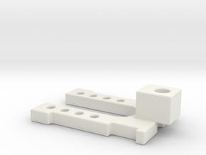 E&L Magwell in White Natural Versatile Plastic