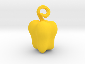 Bell Pepper in Yellow Processed Versatile Plastic