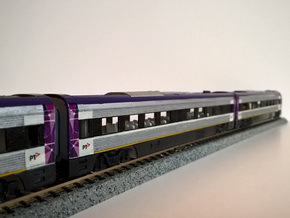 N.02A - Part A - V/Line V'Locity DMU Carriage - in Frosted Ultra Detail
