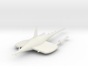 Shark in White Strong & Flexible