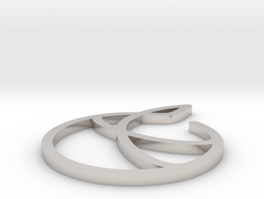 Serene Necklace in Platinum