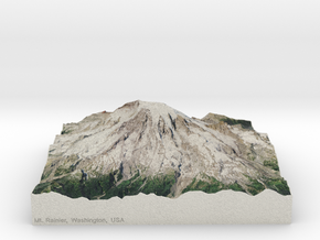 Mt. Rainier, Washington, USA, 1:50000 in Full Color Sandstone