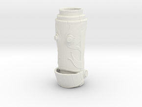 HELPeR Tiki Mug in White Natural Versatile Plastic