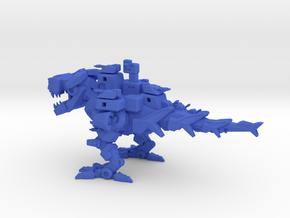 Battlesaurus in Blue Strong & Flexible Polished