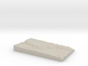 Model of Blue Hen Falls in Sandstone