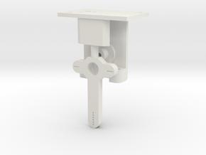Signal Mech - Short 1 Arm in White Natural Versatile Plastic