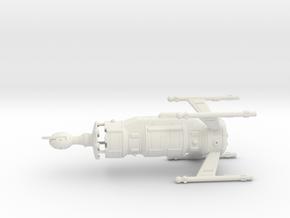 Invader Assault Carrier, Hollow in White Natural Versatile Plastic