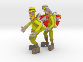 Pumper Team in Full Color Sandstone