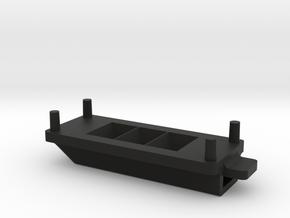 68-69 Charger Hood turn signal LED housing Single in Black Natural Versatile Plastic
