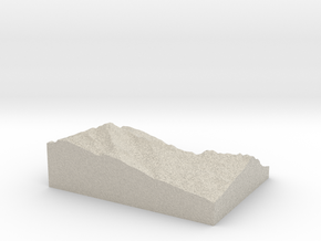 Model of Einshorn in Sandstone