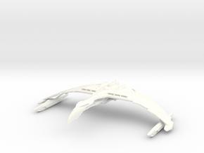 Valdore Class Refit Warbird in White Processed Versatile Plastic