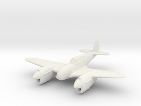 1/144 Curtis Twin P-40 'Twister' in White Natural Versatile Plastic
