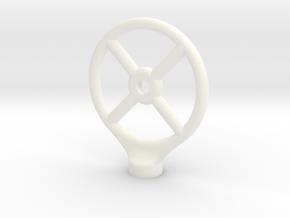 UE Boom Connector in White Processed Versatile Plastic