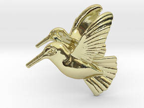 Hummingbird Earrings in 18k Gold