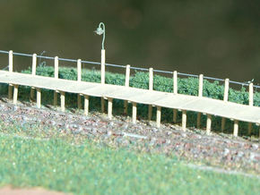 2mm/ft SR Trestle Platform Set in Smooth Fine Detail Plastic