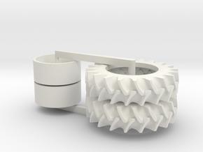 80.8x20.47R46 Seller in White Natural Versatile Plastic