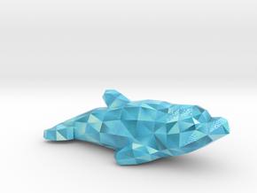 Dolphin in Glossy Full Color Sandstone