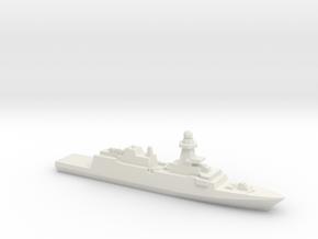 Bergamini-Class FFG (2011), 1/2400 in White Natural Versatile Plastic