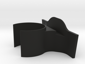 Tesla Iphone Cup Holder in Black Natural Versatile Plastic