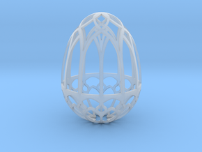 Gothic Egg Shell 2 in Smooth Fine Detail Plastic