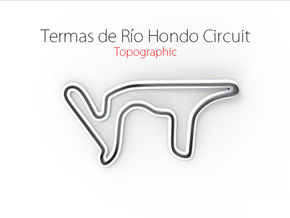 Termas de Río Hondo Circuit | Small in Full Color Sandstone