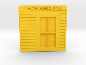Newfoundland Coast(er) in Yellow Processed Versatile Plastic