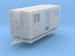 Construction Trailer 1-87 HO Scale FUD in Smooth Fine Detail Plastic
