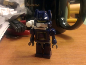 Kreon Soundwave Shoulder Cannon in White Strong & Flexible