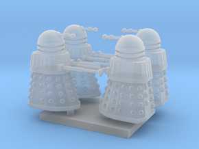 Dalek02 (4) N 160:1 Scale in Frosted Ultra Detail