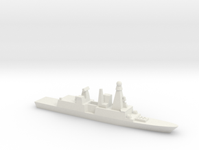 Forbin-Class Frigate, 1/2400 in White Strong & Flexible