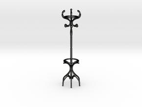 Coat Rack in Matte Black Steel