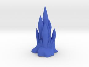 Great Castle in Blue Processed Versatile Plastic