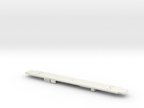 Amtrak Horizon Cafe Underframe in White Natural Versatile Plastic
