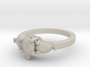 Ring 38 in Natural Sandstone