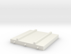1/64 Platform Spacer in White Natural Versatile Plastic