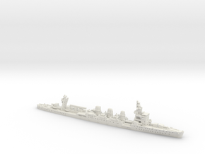 IJN CL Natori [1941] in White Natural Versatile Plastic: 1:1800