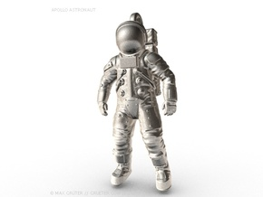 Apollo Astronaut / 50 mm in Natural Silver