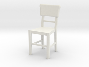 Basic Chair  in White Natural Versatile Plastic