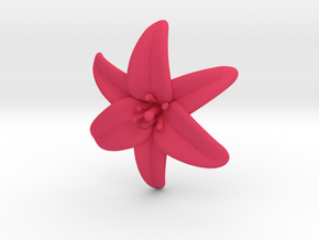 Lily Blossom (small) in Pink Strong & Flexible Polished